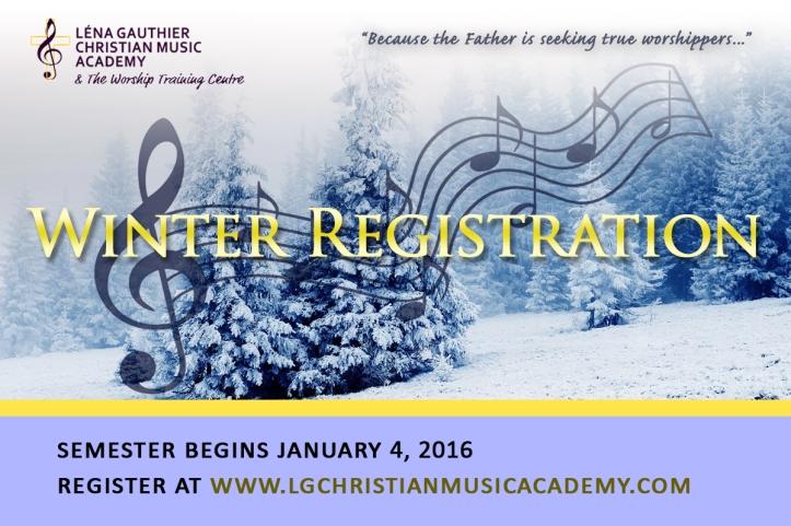 Winter Semester Banner